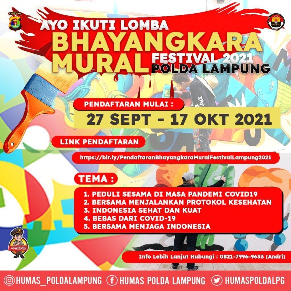 Bhayangkara Mural Festival 2021