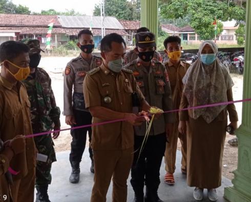 Polsek Tanjung Raya Resmikan Kampung Tangguh