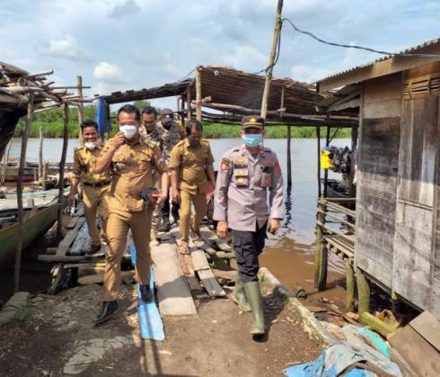 3 Desa di Kecamatan Tanjung Raya Diresmikan Menjadi Kampung Tangguh