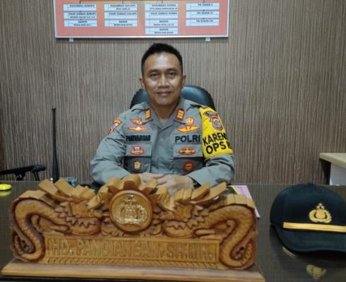 Kabag Ops Polres Mesuji Himbau Kades untuk Aktifkan Siskamling