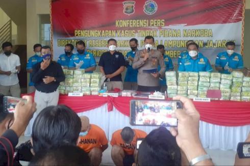 97 Kg Paket Sabu Berhasil Digagalkan Polda Lampung
