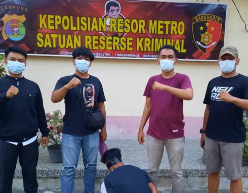 DPO Curas di Mesuji Berhasil Ditangkap Polsek Tanjung Raya