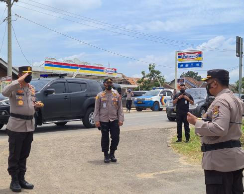 Polres Mesuji Terima Kunjungan Kerja Kapolda Lampung
