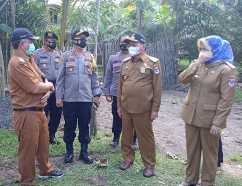Polres Mesuji Resmikan Kampung Tangguh di Desa Eka Mulya