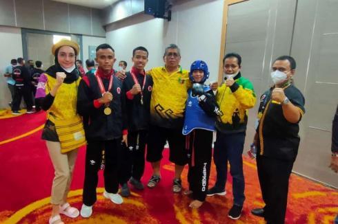 Personil Polda Lampung Sumbang Satu Mendali Emas Pada PON XX Papua