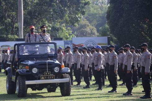 162 Siswa Papua Menjalani Diktuba di SPN Kemiling Polda Lampung TA.2021