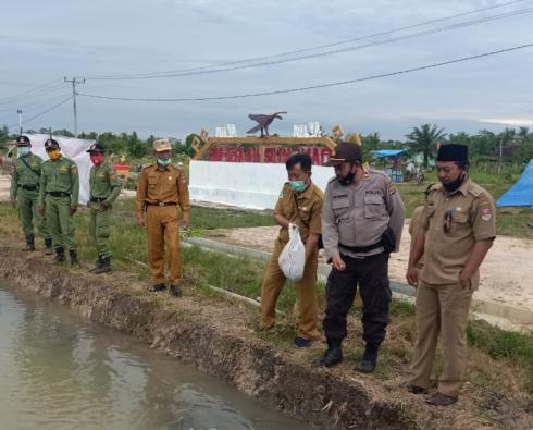 Dua Desa di Kecamatan Rju Diresmikan Sebagai Kampung Tangguh